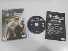 G-FORCE LICENCIA PARA ESPIAR JUEGO PARA PC DVD-ROM EN ESPAÑOL WALT DISNEY