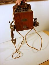 RARE MODELE TELEPHONE GRAMMONT 1925 systeme EURIEULT  TYPE 9 TBE