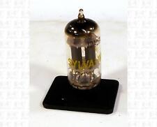 Sylvania 12AU7A ECC82 12AU7 Vacuum Tube USA Gray Plates Ring Getter