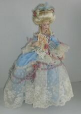 Queen Duchess Marie Antoinette Heirloom By The Franklin Mint