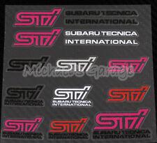Subaru STI Tecnica International Car Sticker Logo Decal Fit Impreza WRX Liberty