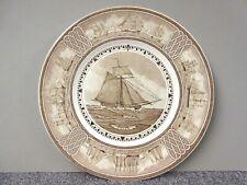 "Wedgwood The American Sailing Ship ""Union"" Commemorative Nautical Plate 10.75"""