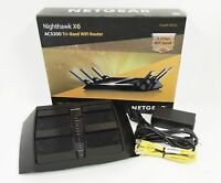 Netgear Nighthawk X6 AC3200 4-Port Gigabit Wireless AC Router (R8000)