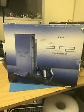 Playstation 2 PS2 Aqua Blue limited edition console complete TESTED & WORKING