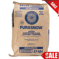 Flour Cake Pastry Kitchen 50lb. protein high baking bleached enriched Kosher new