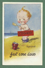 1915 PC DONALD McGILL - JUST COME DOWN - LITTLE BOY WITH SHORTS ROUND ANKLES!