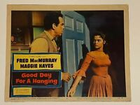 1959 Good Day For A Hanging #6 Lobby Card 11x14 Fred MacMurray, Margaret Hayes