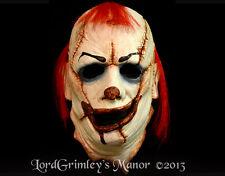 The Clown Skinner Serial Killer Half Halloween Latex Mask Horror Haunts Monster
