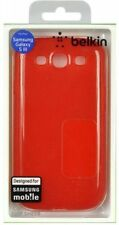Belkin Samsung Galaxy s3 Grip Sheer silicones-Red