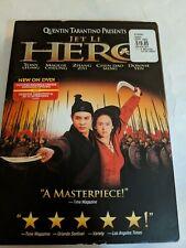 Hero (2002) Dvd Quentin Tarantino Presents.Jet Li Martial Arts Brand New