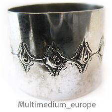 Jugendstil servilletas anillo alpaca metal plateado para 1910