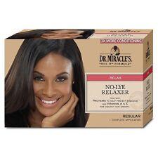 Dr. Miracle's Regular No-Lye Hair Relaxer Regular, 1 ea (Pack of 4)