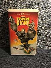 The Iron Giant {Vhs} 1999 -Clamshell Pre-Owned
