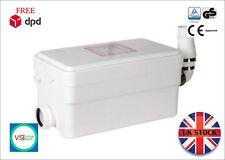 SteriFlux ® Macerator Sanitary Shower/Bath/SNK 2in1 Supersilent! Waste Pump 250W