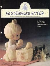 Precious Moments Good Newsletter Winter 1989 Vol 9 Number 1 Official Publication
