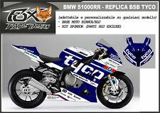 ADESIVI stickers moto KIT per BMW S1000RR kit sponsor replica BSB TYCO