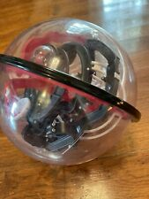 Sharper Image 3D Space Challenge Maze Globe 100 Obstacles *Similar to Perplexus*