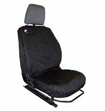Land Rover Defender Waterproof Seat Covers Black-  Front Row 3 Seats DA2815BLACK