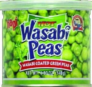 HAPI HOT WASABI PEA 140G (Best Before 8 July 2021 - Buy 1 get 1 FREE)