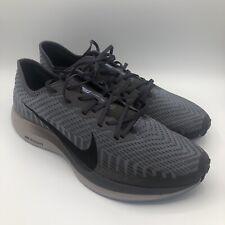 New Mens Nike Zoom Pegasus Turbo 2 Thunder Grey Black AT2863003 Size 11