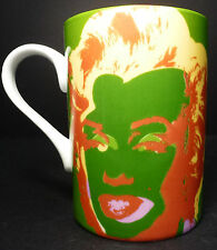 Marilyn Monroe Andy Warhol 1997 Block Porcelain Coffee Cup Art Tea Mug