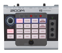 ZOOM V3 MULTI-EFFECTS VOCAL PROCESSOR AND AUDIO INTERFACE