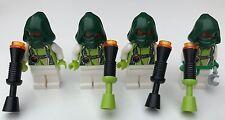 ORIGINALE LEGO solo parti - 4 Fantasy Space Pirates + ARMA-Unità 1-Star Wars