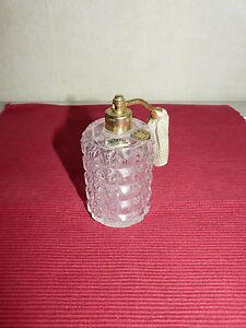 Flacon à parfum pulvérisateur cristal taillé  (391011)
