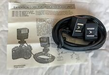 Astron 4 metre Flash Extension Cord dedicated for Olympus OM Film Cameras