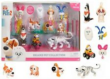 Secret Life of Pets 2 Deluxe Pet Collection 10 Pack 3 Toy Play Animals Jungle