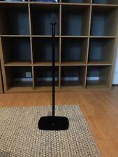 Flexson Fixed Floor Stand for Sonos Play 1 Speaker (Black) P1-FS