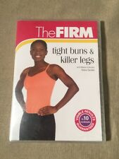 The FIRM - Tight Buns And Killer Legs (DVD) NEW SEALED
