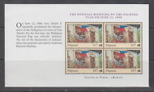 Philippine Stamps 2003 Hoisting of Filipino Flag at Kawit 1898, Booklet Pane