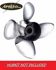 Apollo Stainless Steel 4 Blade Prop Mercruiser Alpha Bravo 1 14 5/8 x 16 993203