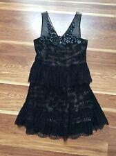 BCBG Little  black Lace dress