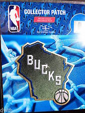 Official Licensed NBA Milwaukee Bucks Alternate Logo Iron or Sew On Patch