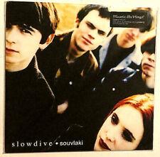 SLOWDIVE - SOUVLAKI LP 2011 PRESS ROCK SHOEGAZE ALT INDIE DREAM POP