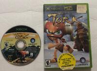 Tork: Prehistoric Punk (Microsoft Xbox, 2005) No Manual Tested Free Shipping