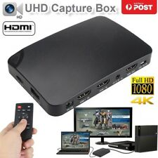 4K HDMI 1080P Video Capture Box For PS4 PS3 PC TV BOX Live stream OBS XSplit VLC