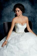 Beading Lace Ball Gown/Duchess Plus Size Wedding Dresses