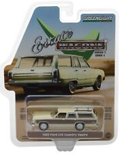 1:64 GreenLight *ESTATE WAGONS 1* YELLOW 1985 Ford LTD Country Squire *NIP*