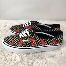 Vans Womens VN0A2Z5I19M1 Black Tiger Floral Lace Up Sneaker Shoes Size 7