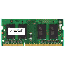 Crucial Apple iMac Macbook 4GB DDR3 1600 PC3-12800 SODIMM Memory Ram CT4G3S160BM