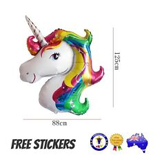 LARGE MY LITTE PONY UNICORN FOIL BALLOON Birthday Party Supplies Foil Toy