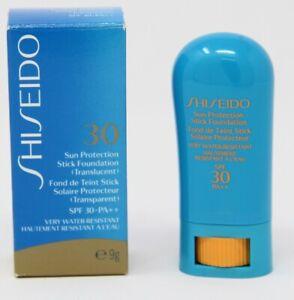 Shiseido 30 Sun Protection pflegender Stift Transparent  9g