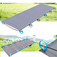 Folding Single Bed Aluminium Alloy Portable Travel Outdoor Camping Tent Cot