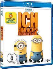ICH, EINFACH UNVERBESSERLICH 2 (Blu-ray Disc) NEU+OVP