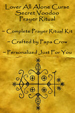 Lover All Alone Voodoo Prayer Ritual Kit Banish Lonely Break Up Curse Divorce