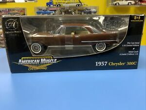 """AMERICAN MUSCLE  1957 CHRYSLER 300C LIMITED 1 OF 1302 """"BEIGE INTERIOR""""  """"NEW"""""""