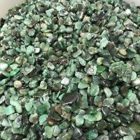 1/4lb Green Emerald Tumbled Natural Stone Crystal Healing Chakra Reiki 8-10mm